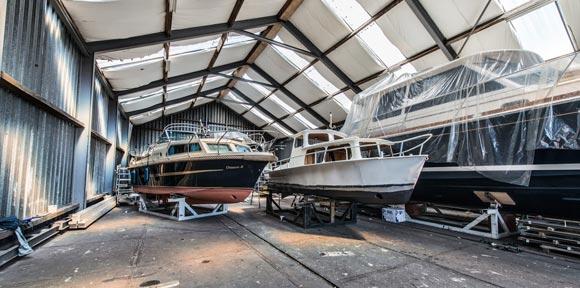 Gespecialiseerd in het bouwen van stalen knik-spant motorjachten - Zijlmans Jachtbouw